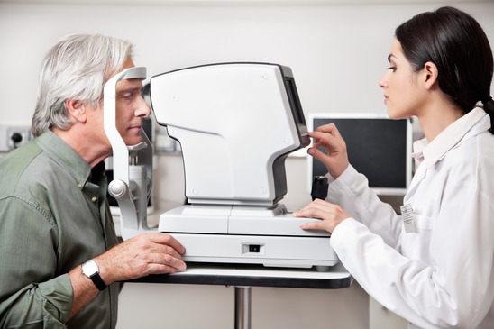 Comprehensive full eye examination